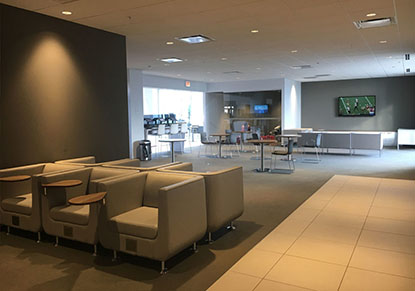 Service Customer Lounge at Berman Nissan of Chicago