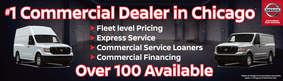 Berman Nissan of Chicago #1 Commercial Dealer in Chicago