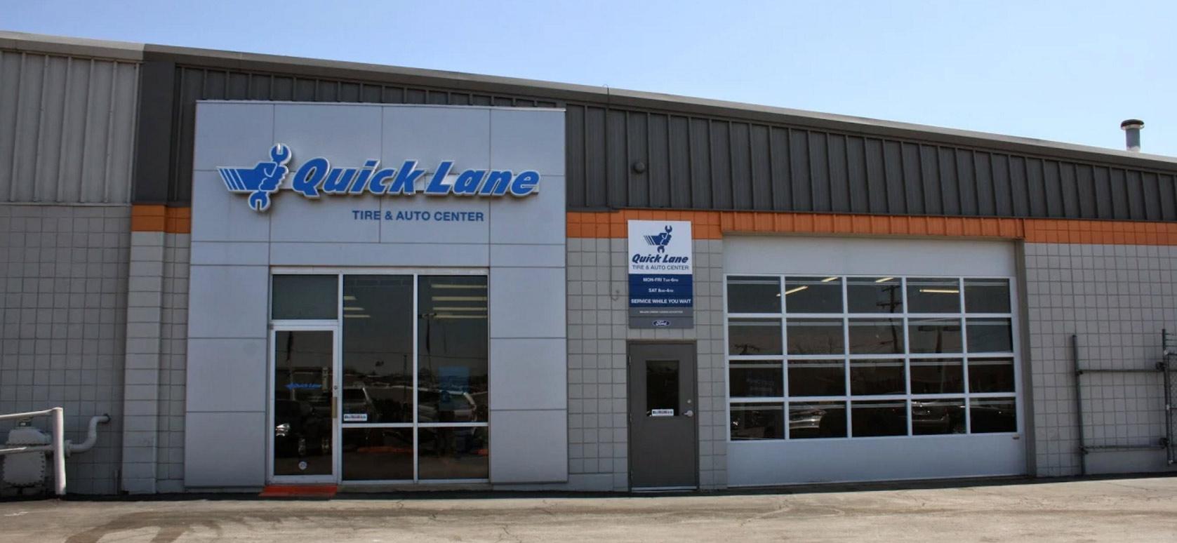 quick lane auto service topeka laird noller ford. Black Bedroom Furniture Sets. Home Design Ideas