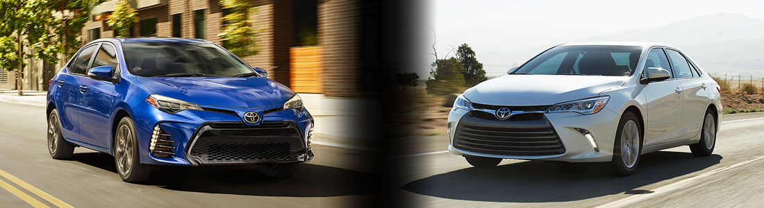 2017 Toyota Corolla Vs Camry Specs And Prices