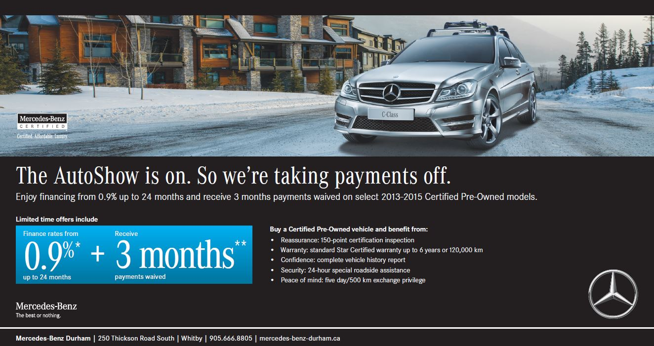 Used pre owned auto specials mercedes benz durham for Mercedes benz cpo special offers