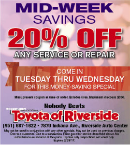 Midweek Savings
