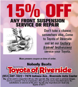 Suspension Service or Repair