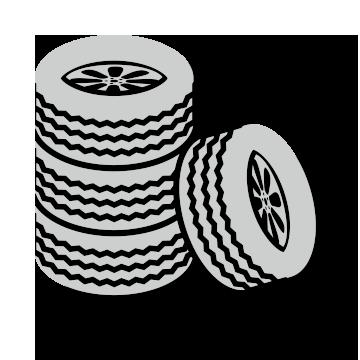 4 tires icon