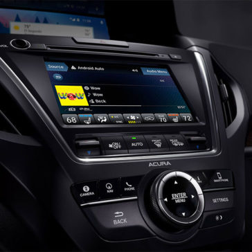 2018 Acura MDX Advance Entertainment Pkgs On Demand Multi Use Display