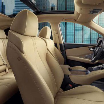 Interior seats 2019 Acura RDX