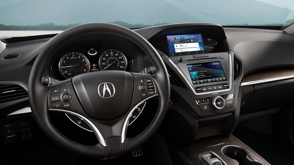 Acura MDX 2019 interior cabin