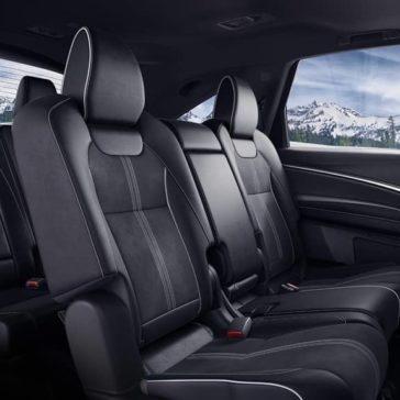 Acura MDX 2019 interior sophisticated seats