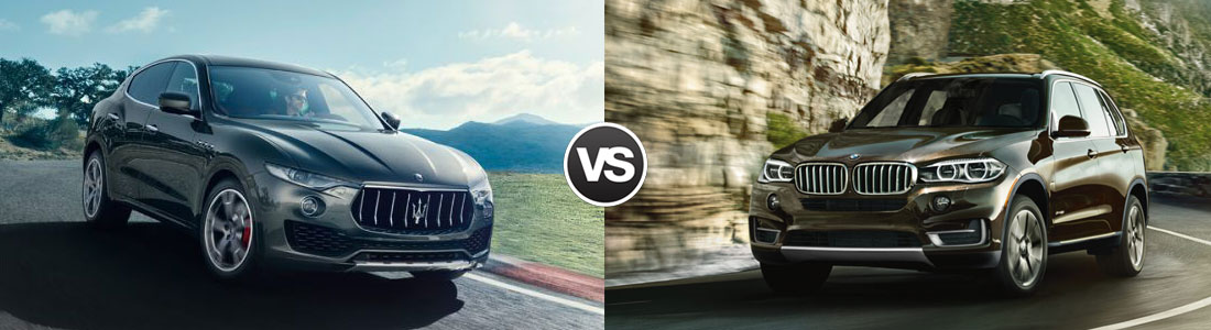 2017 Maserati Levante vs 2017 BMW X5