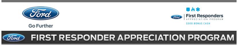 First Responder Banner