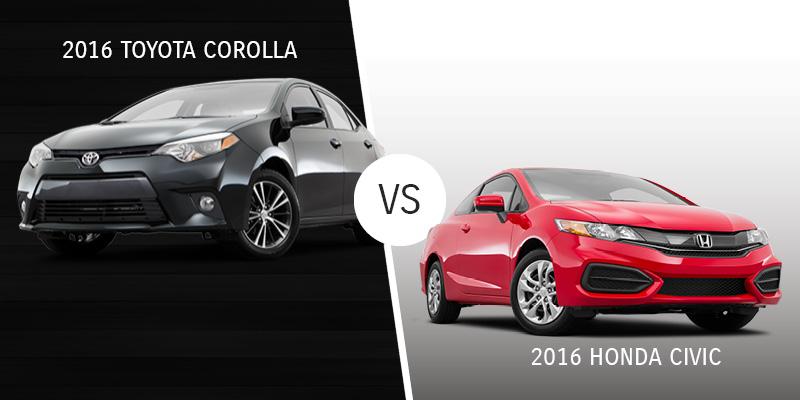 Corolla vs. Honda Civic