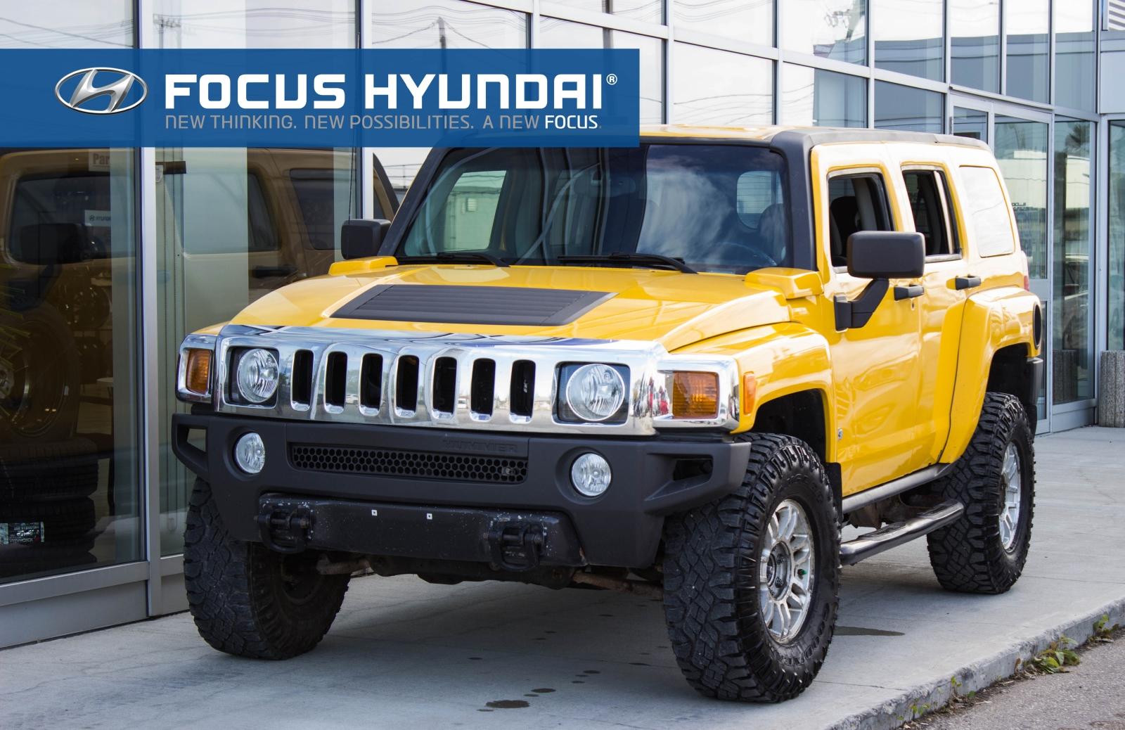 Used Tires Winnipeg >> Used Hummer H3 Suv Winnipeg Mb R2l 0y4 Focus Hyundai