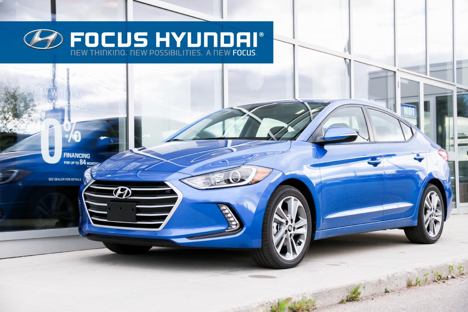 la Hyundai Elantra 2017