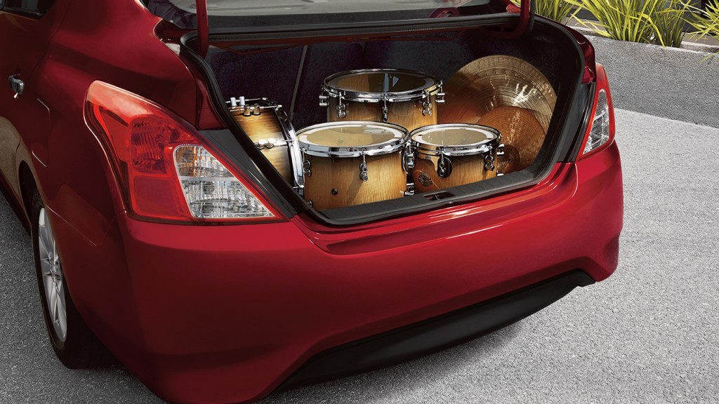 Nissan Versa Trunk Space