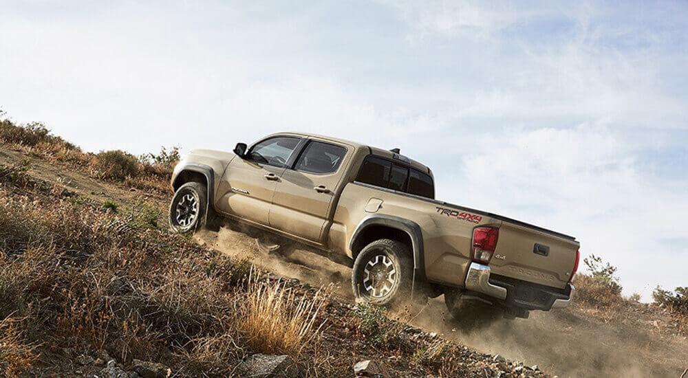 2017 Toyota Tacoma performance
