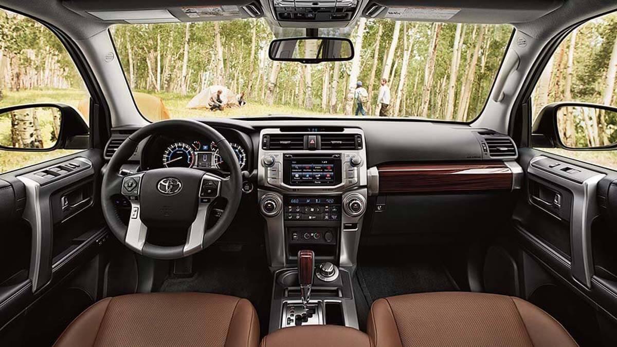 2017 Toyota 4Runner interior view