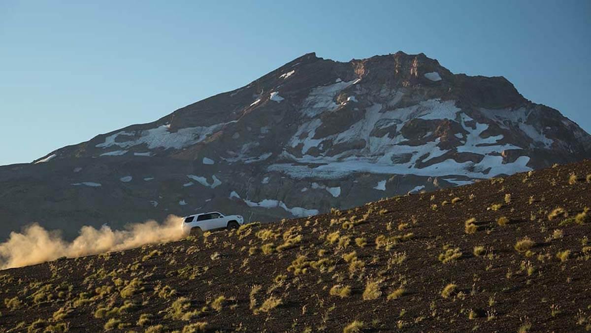 2017 Toyota 4Runner on the mountainside