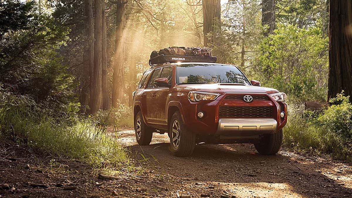 2017 Toyota 4Runner in the forest
