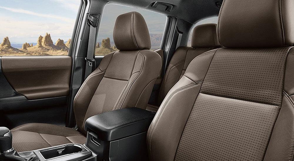 2017 Toyota Tacoma interior seating