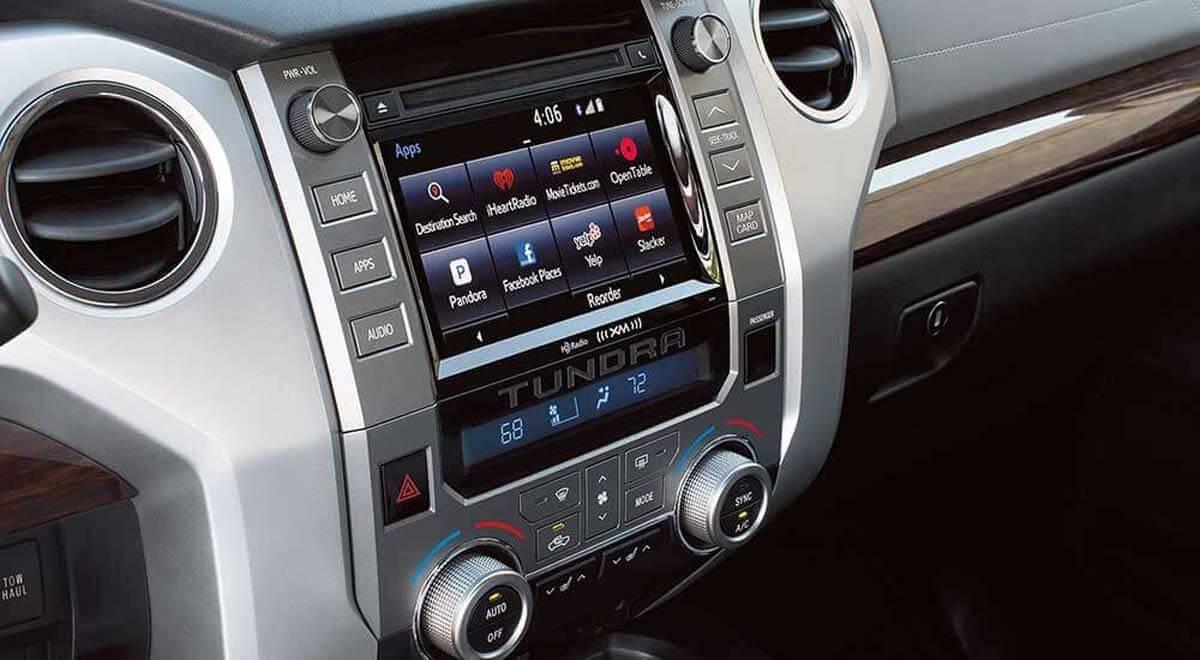 2017 Toyota Tundra technology