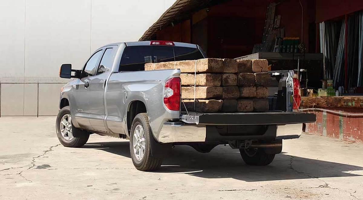 2017 Toyota Tundra truckbed