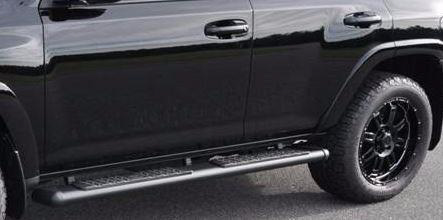 2017 Toyota 4Runner Black Running Boards