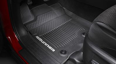 2017 Toyota 4Runner 3pc- All Weather Floor Liners