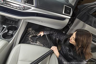 2017 Toyota Highlander Built-in On Board Vacuum