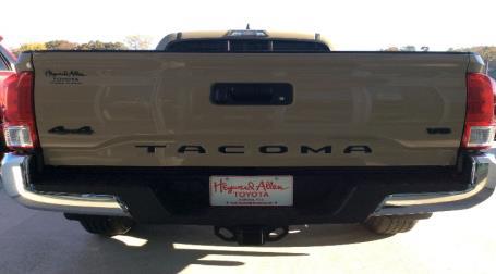 2017 Toyota Tacoma Black Overlays & Tailgate Inserts