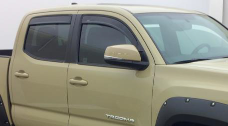2017 Toyota Tacoma In-Channel Vent Visors