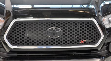 2017 Toyota Tacoma Black Laser-Cut Aluminum Grille