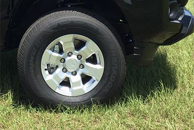 2017 Toyota Tacoma 16 inch 6 Spoke Silver Alloys