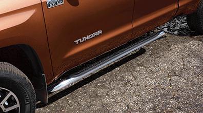 2017 Toyota Tundra Chrome Oval Tube Steps