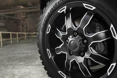 2017 Toyota Tundra 20 inch Phantom Black Alloys