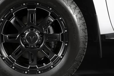 2017 Toyota Tundra 20 inch Black Gunner Alloys