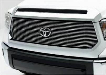 2017 Toyota Tundra Polished or Black Billet Aluminum Grille