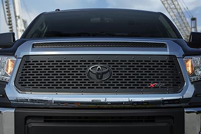 2017 Toyota Tundra Black Laser Cut Aluminum Grille