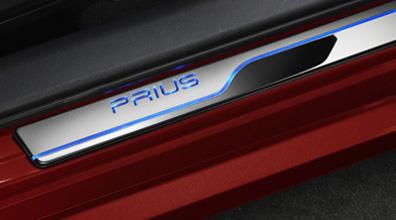 2017 Toyota Prius Illuminated Door Sills