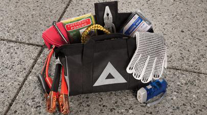 2017 Toyota Prius V Emergency Roadside Assistance Kit