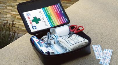 2017 Toyota Prius V First Aid Kit
