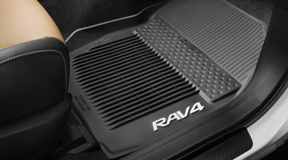 2017 Toyota Rav4 3pc- All Weather Floor Liners