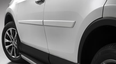 2017 Toyota Rav4 Color Keyed Body Side Molding