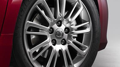 2017 Toyota Camry 17 inch Silver Multi-Spoke Alloys