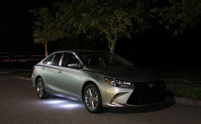 2017 Toyota Camry LED Illumination Kit