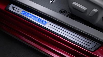 2017 Toyota Camry Illuminated Door Sill Protectors