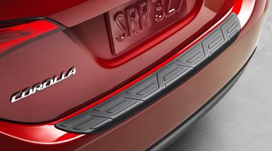 2017 Toyota Corolla Rear Bumper Protector