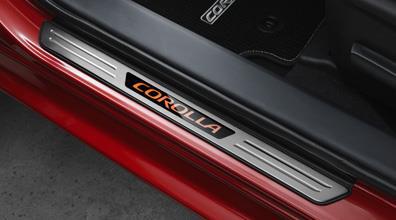 2017 Toyota Corolla Illuminated Door Sill Protectors