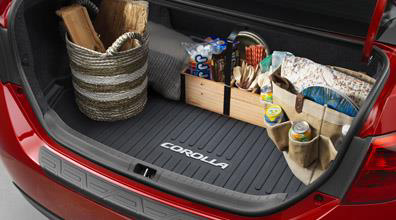 2017 Toyota Corolla All Weather Cargo Tray