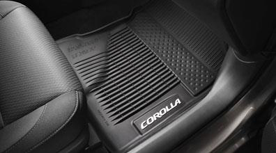 2017 Toyota Corolla All Weather Floor Liners