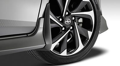 2017 Toyota Corolla iM Mudguards